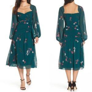 NWT Keepsake the Label Night Fall Midi Dress